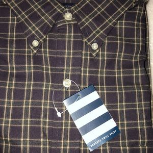 Lands End - Brushed Twill Shirt - New w/tags